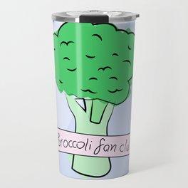 broccoli fan club Travel Mug