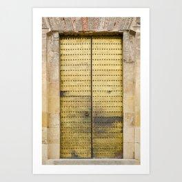 Golden Door Art Print