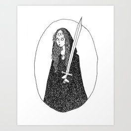 Your Culture's Witch Art Print