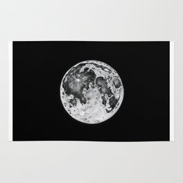Full Moon Lunar Phase Rug