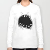 monster Long Sleeve T-shirts featuring monster by Кaterina Кalinich