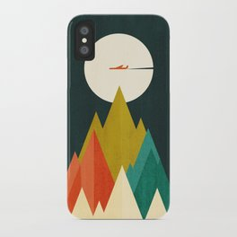Life is a travel iPhone Case