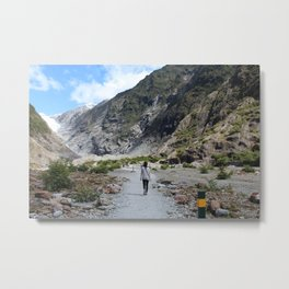 Franz Josef Glacier Metal Print