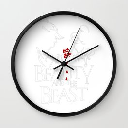 Beauty and the Beast 2017 Wall Clock