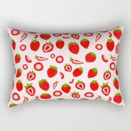 Strawberry milk kawaii Rectangular Pillow