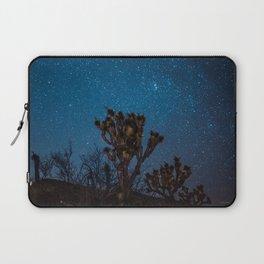 Midnight Stars at Joshua Tree Laptop Sleeve