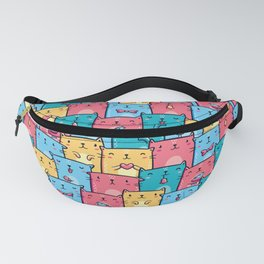 Colorful Cats Fanny Pack