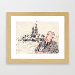 Gordon Cole Framed Art Print