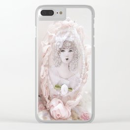 Pretty Easter Eggs Clear iPhone Case