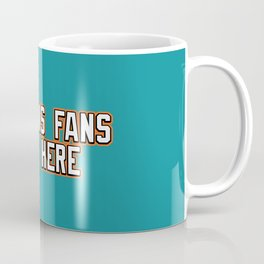 Dolphins Fans Live Here Coffee Mug
