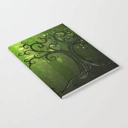 LEAVE - Summer Green Notebook