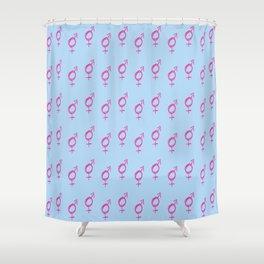 Symbol of Transgender XIX Shower Curtain