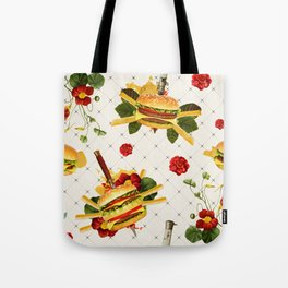 cheeseburger in gangstas paradise Tote Bag