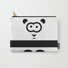Minimal Panda Carry-All Pouch
