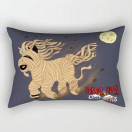 Horror Movie Unicorns: Mummy Rectangular Pillow