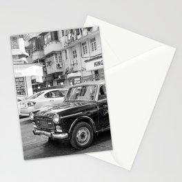 Mumbai Cab Ride Stationery Cards