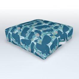 Aquatic Life Outdoor Floor Cushion