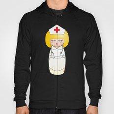 Kokeshi Blonde nurse Hoody
