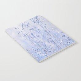 Winter Sparkle On A Sunny Frosty Day #decor #buyart #society6 Notebook
