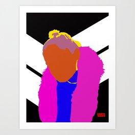 Aria Jay Art Print