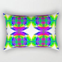 Technicolour Starburst 9 Rectangular Pillow