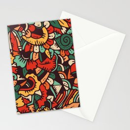 Spring bloom pattern Stationery Cards