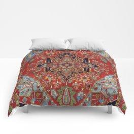 Heriz  Antique Persian Rug Print Comforters