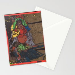 Mother and Child Stationery Cards