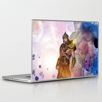 hercules Laptop & iPad Skins featuring Hercules by nicky2342