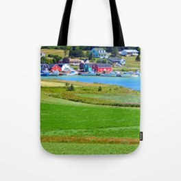 French River Harbour Tote Bag