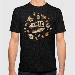 Geo-rex Vortex   Citrine Quartz T-shirt