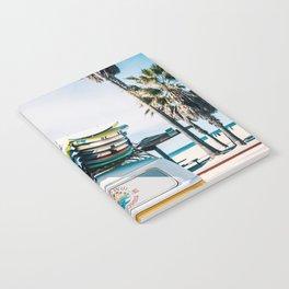 Surfing van Notebook