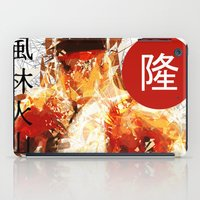 street fighter iPad Cases featuring Street Fighter II - Ryu by Carlo Spaziani
