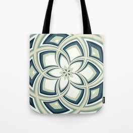 Spiral Rose Pattern E 3/4 Tote Bag