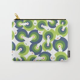 Mano Semilla/Hand Seed--Green Carry-All Pouch