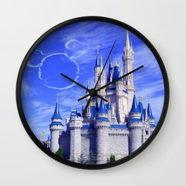 Mickey in the Sky Wall Clock