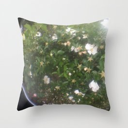 a new floral perspective Throw Pillow