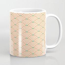 Japanese fan pattern II Coffee Mug