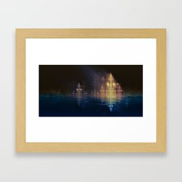 Holy City Framed Art Print