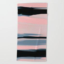 Soft Determination Peach Beach Towel