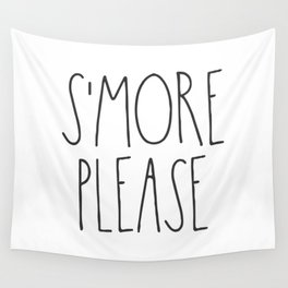 S'more Please Wall Tapestry