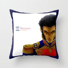 Vicente Guerrero Throw Pillow