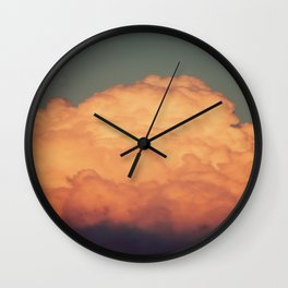 Cotton Candy Castle Wall Clock