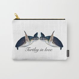 Turtley In Love Carry-All Pouch