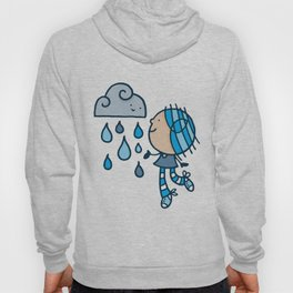 Rain Cloud Girl Hoody