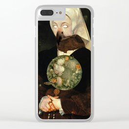 Spinster Clear iPhone Case