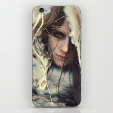 Coyote Girl iPhone & iPod Skin