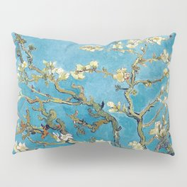 Almond Blossom Vincent Van Gogh Blue Pillow Sham
