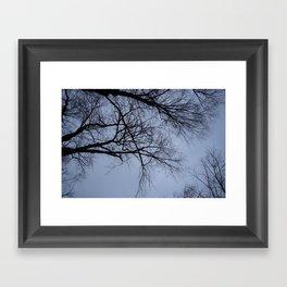 Portland Fog Framed Art Print