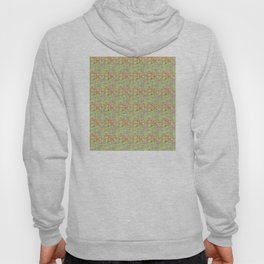 Positive Thought Leaves, Hearts, Flowers Hoody